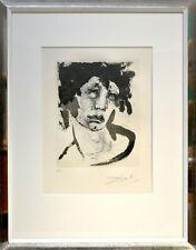 Salvador Dali: Portrait de Sigismund. [1971]. Sign. Original-Radierung. Gerahmt.