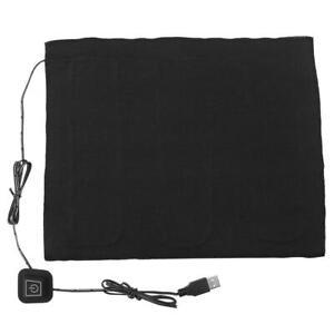 3-Shift USB Electric Cloth Heater Pad Heating Mat for Waist Abdomen Cushion Warm