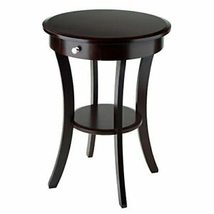Winsome Wood Sasha Accent Table Cappuccino