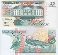 Suriname banconota 25 gulden