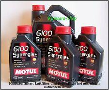 5 litros Motul 6100 sinergia 10w40