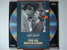 Every Girl Should Be Married 1948 Laser Disc NEW Cary Grant - Franchot Tone Mint