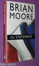 THE STATEMENT Brian Moore, 1st ed hardback with jacket, war crimes in France