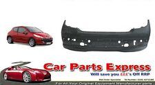 PEUGEOT 207 REAR BUMPER 2006-2012 PAINTED ANY COLOUR