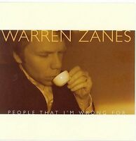 People That I'm Wrong For * by Warren Zanes (CD, Mar-2006, Dualtone Music) New
