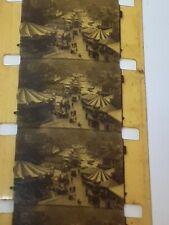 1920s Vintage 16mm Cine Film Fairground (Possibly Mitcham, Surrey)