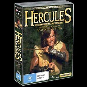 Hercules: The Legendary Journeys Season 5 & 6 (DVD, 10-Disc Set) NTSC Region 4