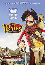 The Pirates! In an Adventure with Scientists  DVD Blu-ray Hugh Grant - NEW