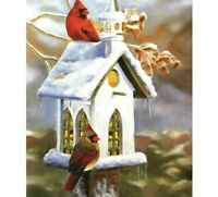 DIY Diamond Painting Birds Little House Design Embroidery Portrait Wall Displays
