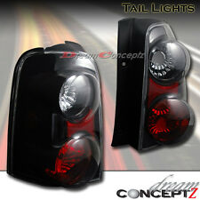 For 2001-2007 Ford Escape Black Housing style tail lights lamps pair (L+R)