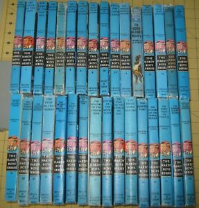 Lot of 32 Vintage Hardy Boys Booksby Franklin W. Dixon