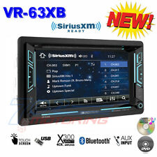 "SOUNDSTREAM DOUBLE DIN VR-63XB DVD/CD/MP3 PLAYER 6.2"" LCD BLUETOOTH USB SIRIUSXM"