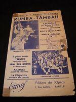 Partition Rumba Tambah Rico's Créol Band Rosita Barrios Music Sheet
