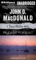 Travis Mcgee Mysteries: Pale Gray for Guilt 9 by John D. MacDonald (2013, CD,