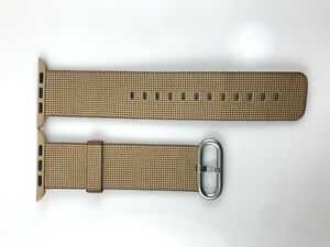 Original Apple Watch Woven NYLON Band 42MM 44MM Toasted Coffee/Caramel Prototype