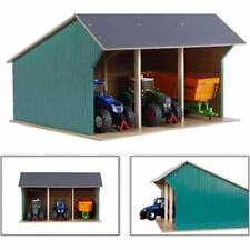 Kids Globe - 45Cm X 38Cm X 27Cm Farm Shed For Tractors - V050193