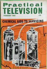 Practical Television - February 1968 - Magazine - Chemical Aids To Servicing