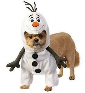 Disney Frozen 2 Olaf Pet Dog Snowman Halloween Christmas Frozen II Costume-L-NIP