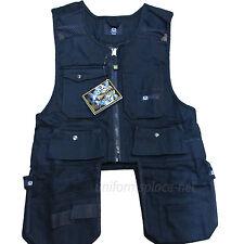 Men Work Vest Pockets Utility Vest tool pockets Pro Black, Brown, Khaki, Yellow