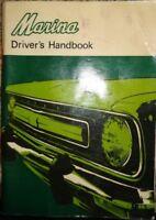 1973 Austin Marina Owners Manual