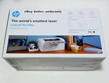 HP LaserJet Pro M15a Monochrome Black/White Compact Wired Laser Printer (W2G50A)