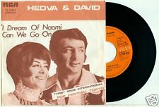 HEDVA (AMRAMI) & DAVID (Israel) - I Dream of Naomi (1e TOKYO) GERMAN RCA PS 7""