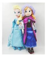 2PCS  50CM Disney Frozen Elsa & Anna Stuffed Doll Plush Toy soft gift for girl