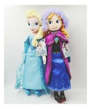 2PCS  50CM Disney Frozen Elsa & Anna Stuffed Doll Plush Toy soft gift for girl
