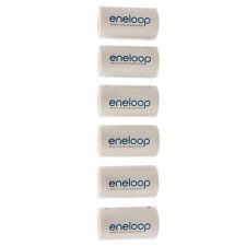 6pcs Eneloop Battery Adaptor Adapter Converter NICS-TG-C AA R6 to C R14 C-Size