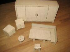 alte Puppenhaus Möbel / antik / Holz