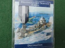 WW 2 DISTINGUISHED SERVICE CROSS MINIATURE DECORATION BY WEST AIR
