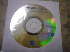 New ! Genuine Konica Minolta Magicolor 5550 Printer CD Software Driver Utilities