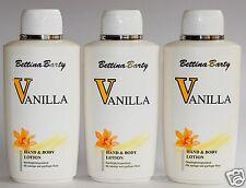 Bettina Barty Vanilla parfümierte Hand- Körperlotion 3 x 500 ml (EUR12,60 /1 L)