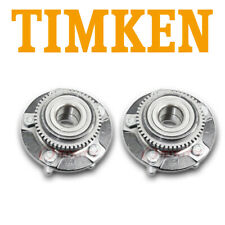 Ford Mustang 1994-2004 Pair Set of Front Wheel Bearings and Hubs Timken 513115