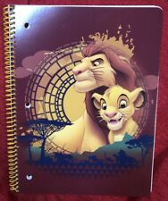 Spiral Notebook 50 Sheet Wide Rule Back To School - Disney Lion King Simba