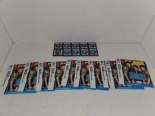 10 LOT JONAS GAMES & MANUALS ONLY FOR NINTENDO DS NDS NEW NEVER USED