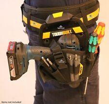 ToughBuilt Tool Drill Holster Large Work Belt Clip Pouch Holder 13 Pocket Loop
