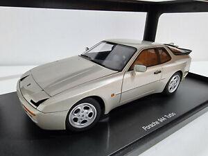 AutoArt 77956 Porsche 944 Turbo 1985 ( SILVER)  # 1/18  #NEW#