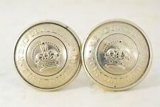 Vtg/Estate-Found Royal Newfoundland Constabulary Button Cuff Links