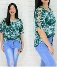 3/4 LATEST SIDE CUT TOP (RC) Green