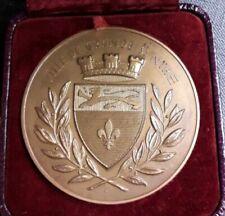 Monnaies de Paris médailles françaises en bronze