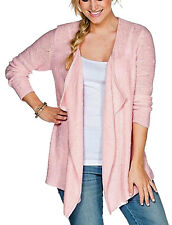 SHEEGO Strickjacke Cardigan Gr. 44/46 rosa Neu 862991