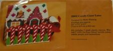 Creative Circle 1983 Candy Cane Lane Needlepoint Kit #2602 Plastic Canvas
