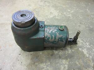 """Felco Hydraulic Jack 20 Ton Precision 3.375"""" Lift Low Clearance Machinery Move 2"""