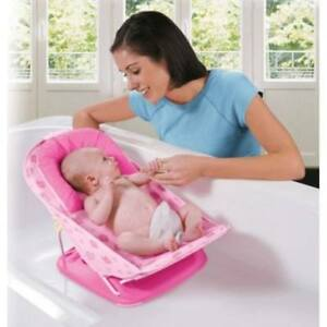 Pink Baby Bather Summer Infant Deluxe