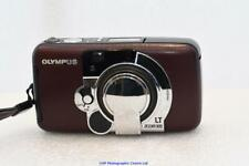 Oylmpus LT-1 ZOOM 105 35mm film camera BURGANDY