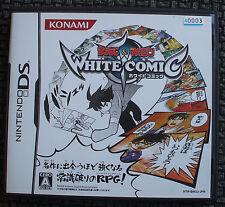 Shounen Sunday & Magazine White Comic Japan Nintendo DS Game Complete US Seller