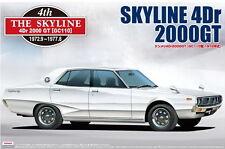 Aoshima Models 1/24 Nissan Skyline (Yonmeri) 4-Door 2000GT (GC110) 1972-1977