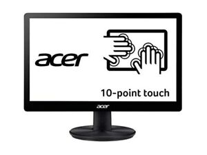 """Acer PT167Q B 15.6"""" (1366 x 768) 10 Point Touch Monitor with VisionCare"""