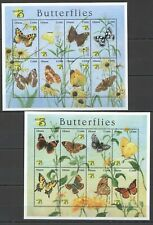 PK286 GHANA FAUNA BUTTERFLIES INSECTS WORLD STAMP EXPO AUSTRALIA 2KB MNH STAMPS